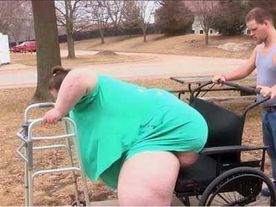 最胖的女人 体重破世界纪录达1450斤