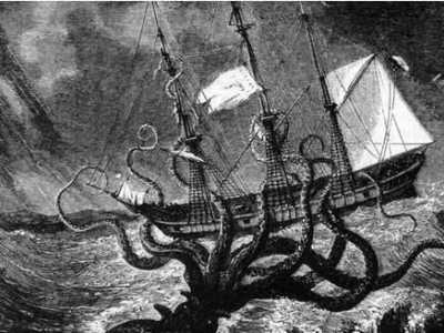 加勒比海盗中的海怪 加勒比海盗里的挪威海怪怎么死的